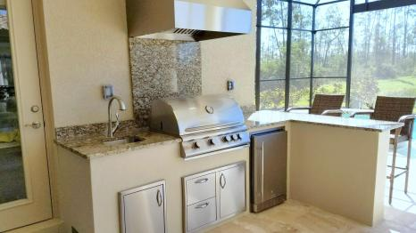 Custom Outdoor Kitchen by Elegant Outdoor Kitchens of Fort Myers